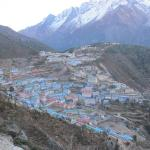 Namche: city 2 days walk from any where