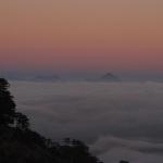 sunset(mist)