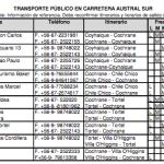 buss schedules